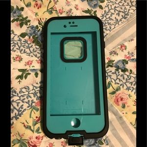 Teal Water Resistant Phone Case